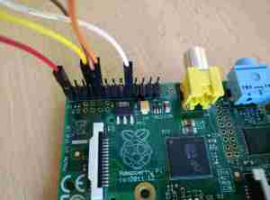 Attaching the GPS shield to the Raspberry