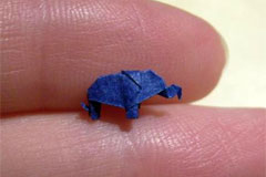 Origami Elephant (Image used with kind permission of Anya Midori)