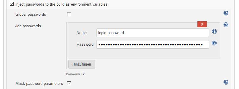 Using passwords with Jenkins CI server | Schneide Blog